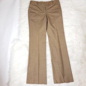 BCBGmaxazria Camel tan wool straight dress pants